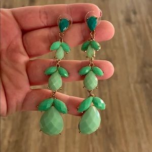  Charming Charlie's Jade Earrings 